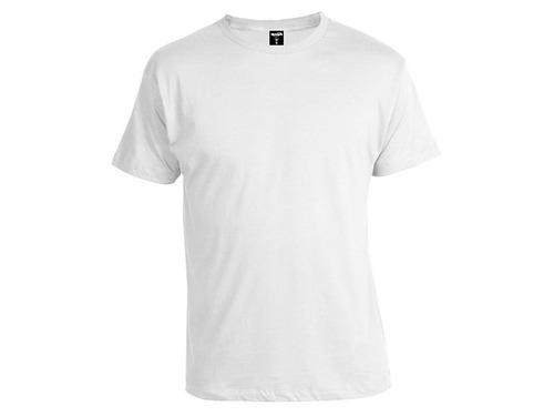 camiseta adulto de algodón blanco x3 c/u $185 disershop