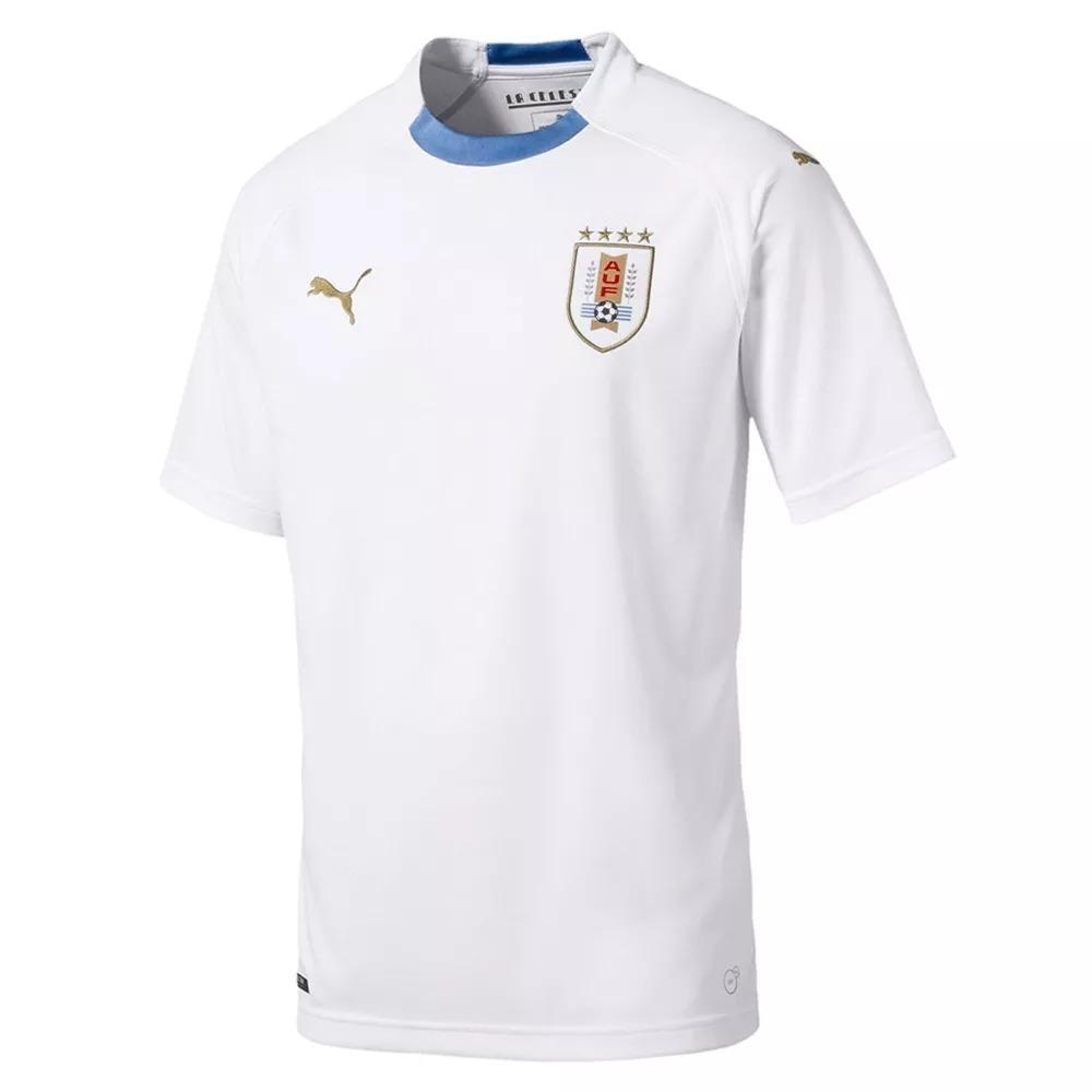 1d71cbbbe2 camiseta alternativa blanca de uruguay 2018 puma del s al xl. Cargando zoom.