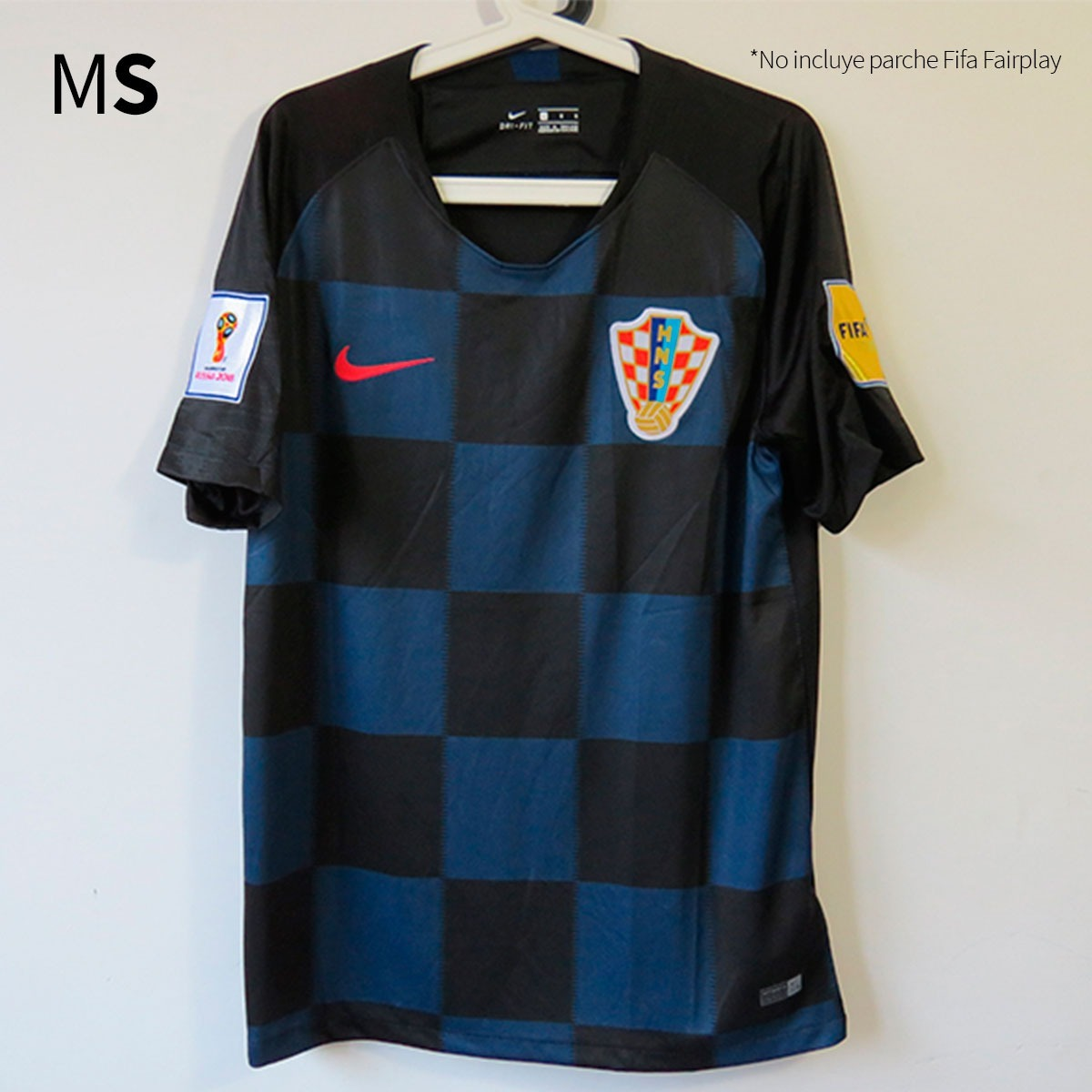 5fd7630024aee camiseta alternativa de selección croacia 2018. Cargando zoom.