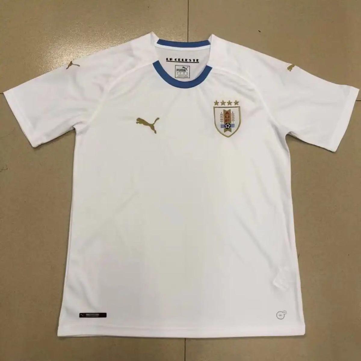 5eb7be2919 camiseta alternativa uruguay puma 2018 luis suarez. Cargando zoom.