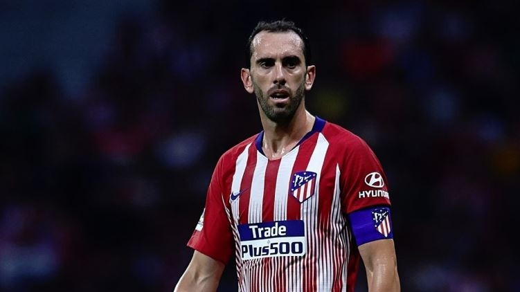 Camiseta Atletico Madrid 2018 2019. Godin. Original. -   1.750 abb0bd792590b
