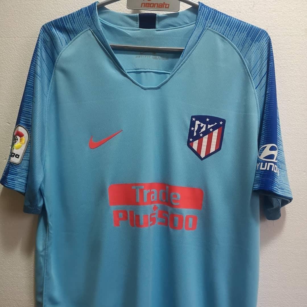 ce35505cf9867 camiseta away atletico madrid 2018 2019. griezmann. original. Cargando zoom.