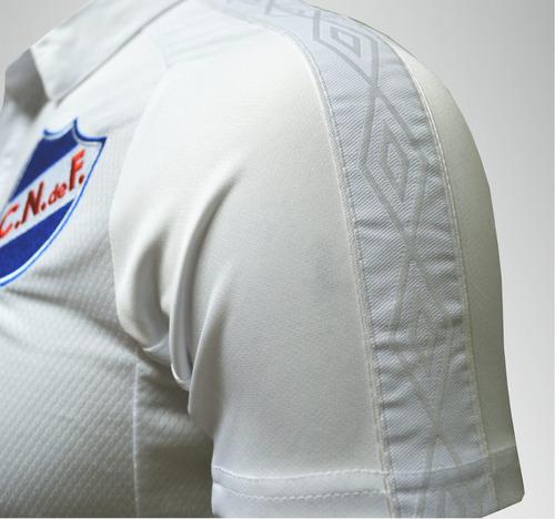 camiseta blanca 2017 niños nacional umbro con sponsors