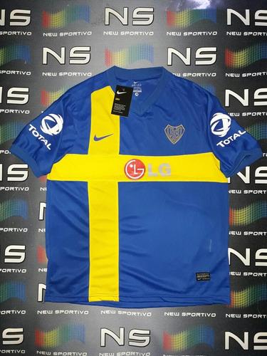 camiseta boca suecia 2010 reedicion 105 años nike envios
