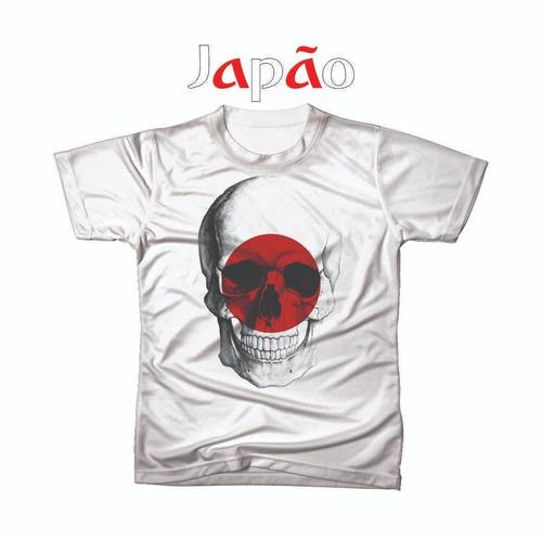 camiseta camisa personalizada copa do mundo japão futebol