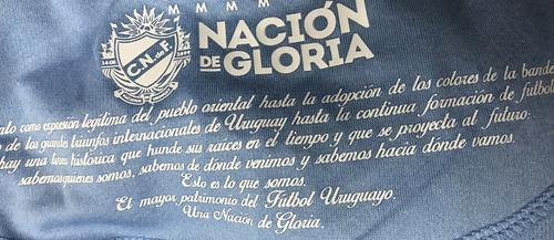 camiseta celeste 2017 adulto nacional umbro con sponsors