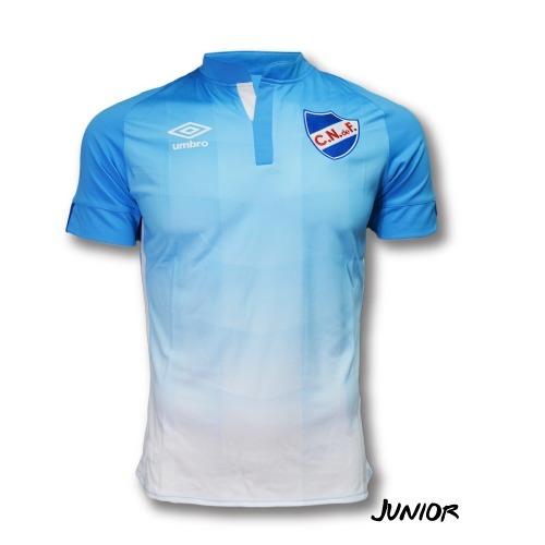 camiseta celeste oficial 2016 sin sponsors nacional niños