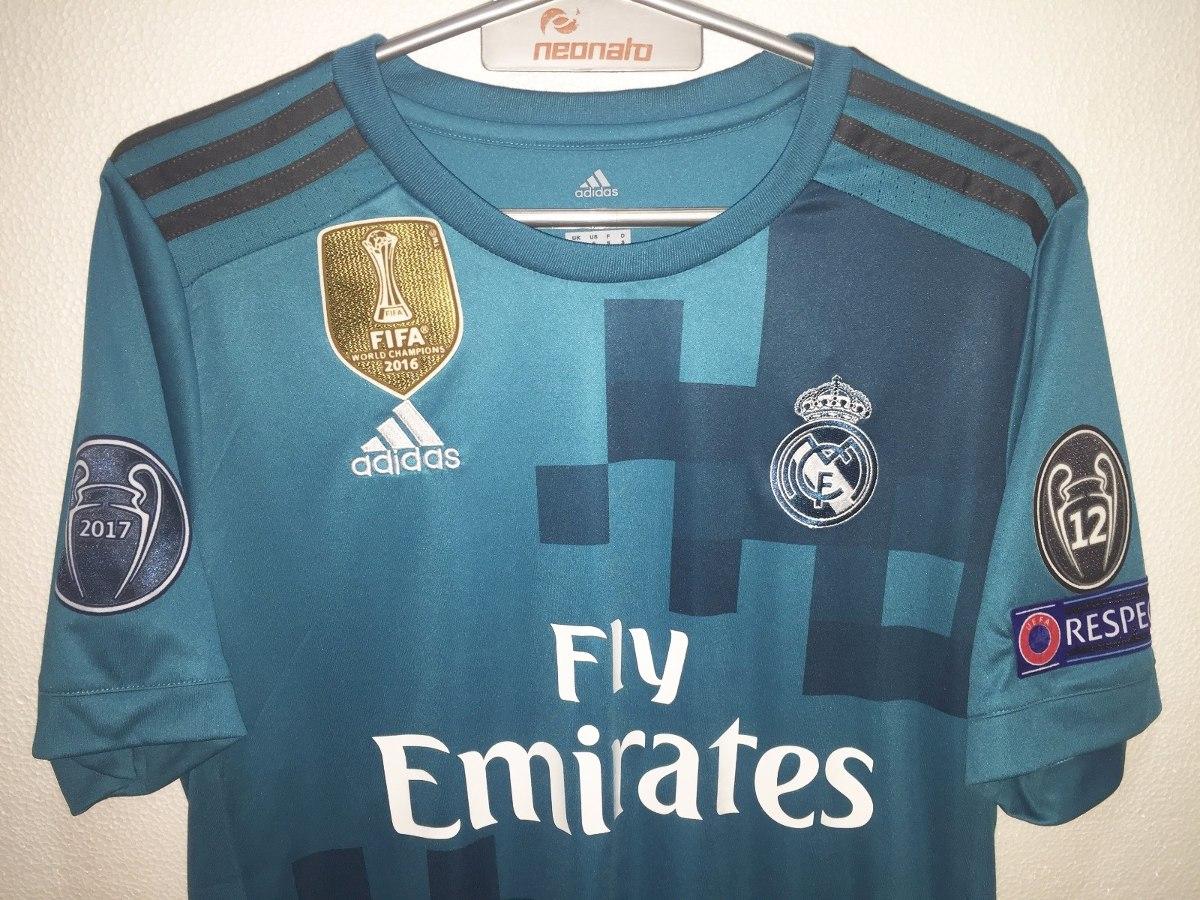 camiseta celeste real madrid 2017 2018. ronaldo. original. Cargando zoom. 76fb36dca8643