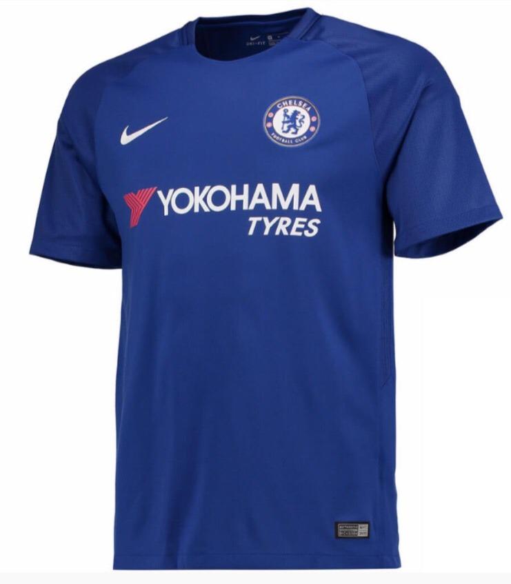 Camiseta Chelsea 2017 2018 Por Encargue Casacas Uy -   1.690 3e09efebd7d60