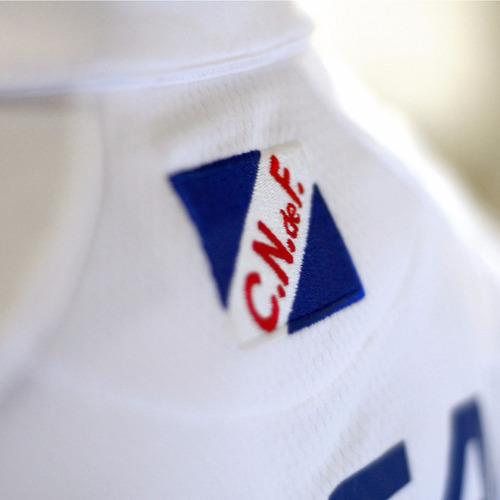 camiseta club nacional de football | umbro - blanca - 2017