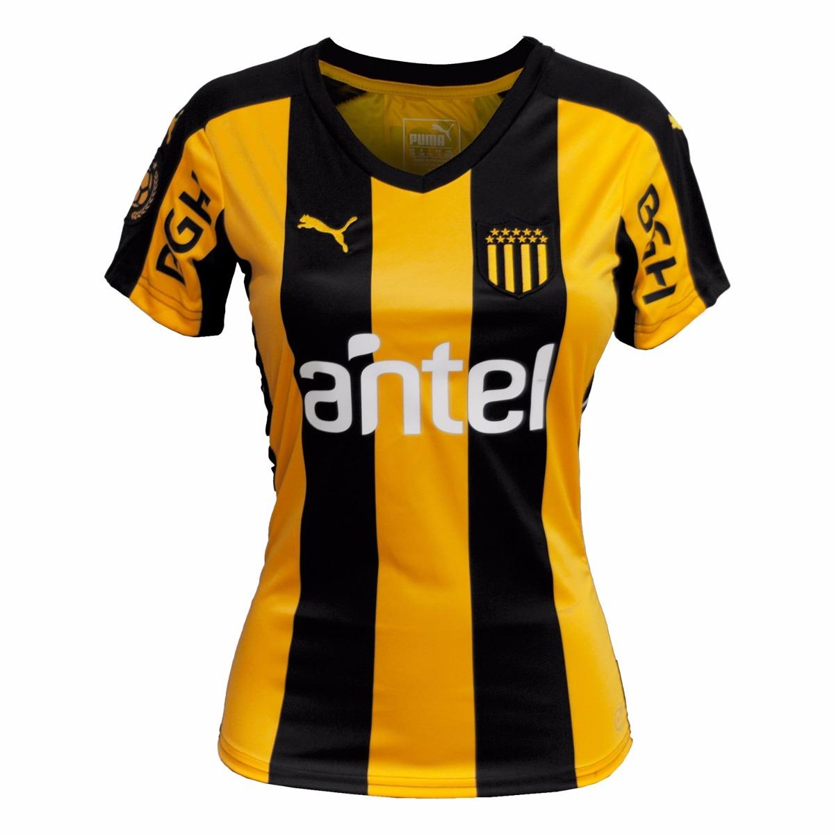 Camiseta Dama Club Atlético Peñarol  2d392f766c338