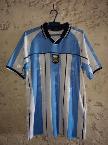 camiseta de argentina coleccionable talle adulto