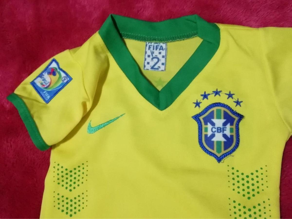 0a85f2161382 Camiseta De Brasil De Bebe