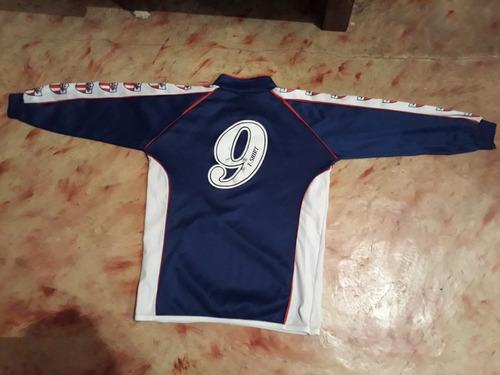 camiseta de divisiones inferiores del c a san carlos . azul