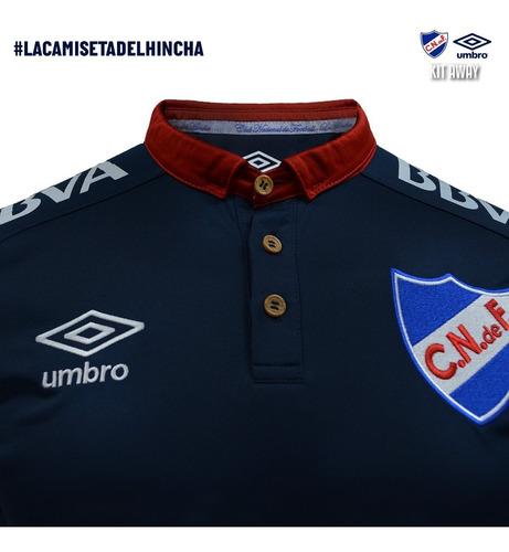 camiseta de nacional azul 2018 del hincha fútbol sin sponsor