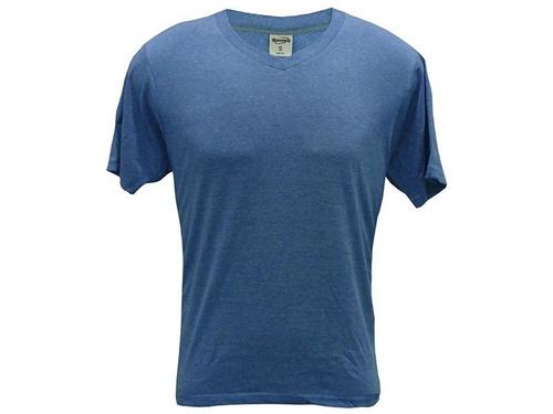 camiseta escote v color 10x $129c/u x mayor disershop