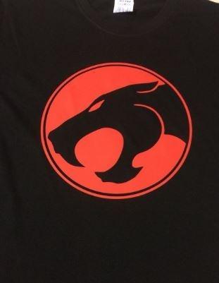 camiseta estampada thundercats