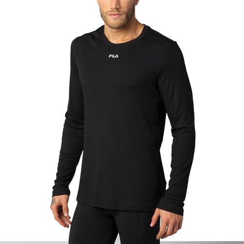 camiseta fila sunprotect manga larga para hombre filtro uv