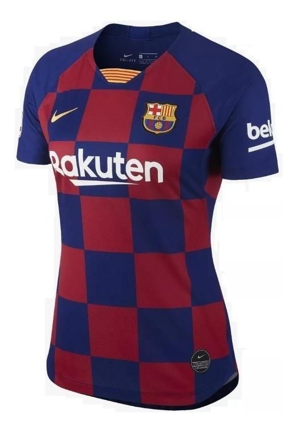 Camiseta Barcelona Futbol 2020 2019 Mujer Gratis Envío D2WIH9E