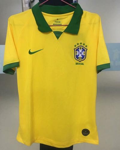 camiseta futbol brasil