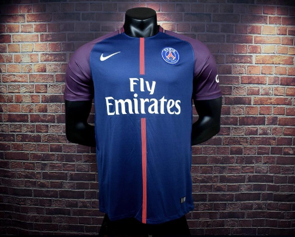 Camiseta Futbol Psg 17/18 Neymar Cavani Mbappe - $ 1.690 ...