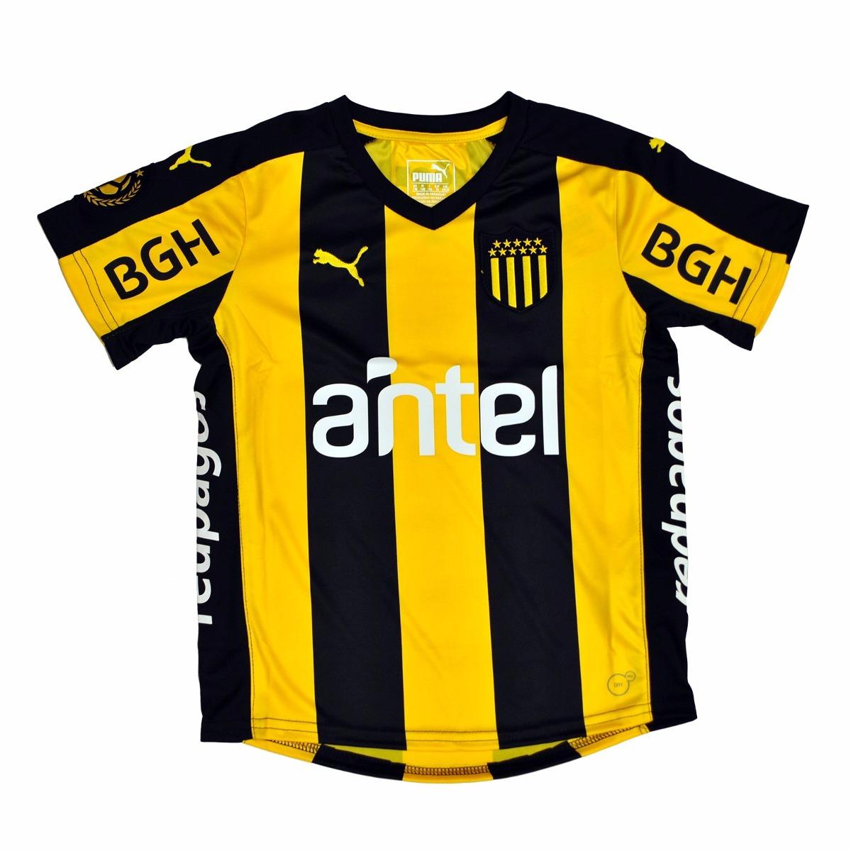 Camiseta Jr. Club Atlético Peñarol  0453b523bb040
