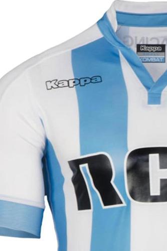 camiseta kappa racing club 2017 stadium bc/ct newsport
