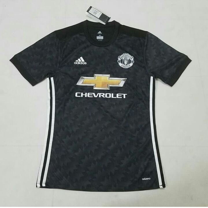 59623b1ed Camiseta Manchester United Negra 2017 18  away  -   1.780