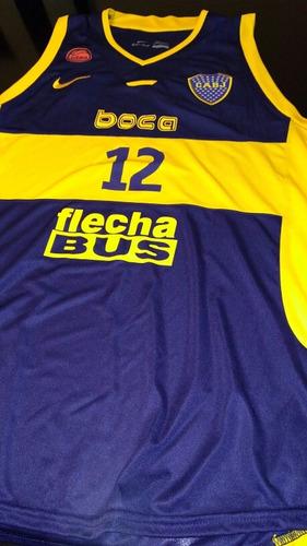 camiseta musculosa boca juniors básquet nueva 2017