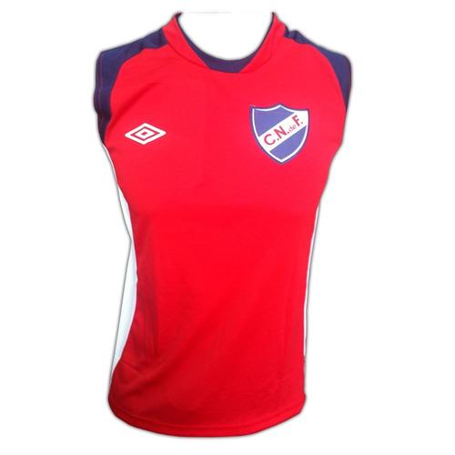 camiseta musculosa sin mangas nacional uruguay umbro de niño