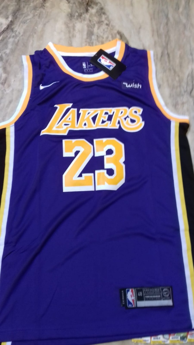 competitive price 40553 88039 Camiseta Nba Nike Original Lakers 18-19 #23 Lebron James