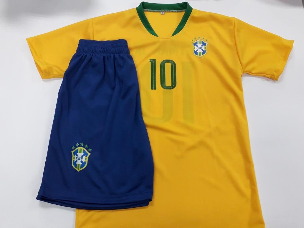 fe88c3db08ea3 camiseta neymar brasil conjunto niño futbol. Cargando zoom.