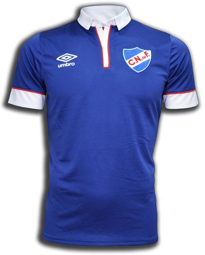 camiseta oficial azul 2016 club nacional de football umbro