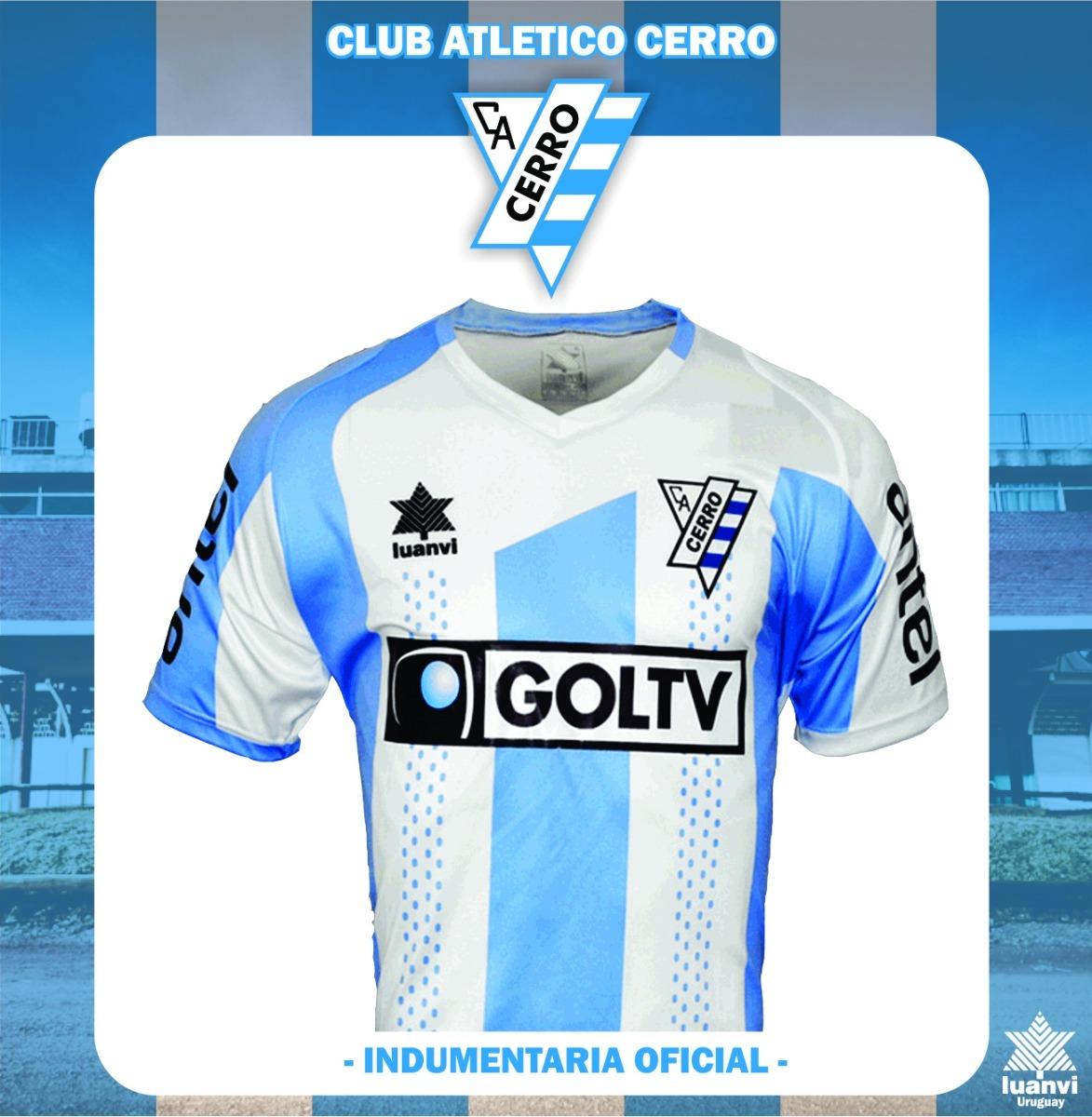 Camiseta Oficial Club Atlético Cerro - Luanvi - -   1.800 eb6795e283baf