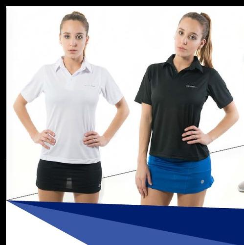 camiseta polo chomba algodón schnell - modelo parís