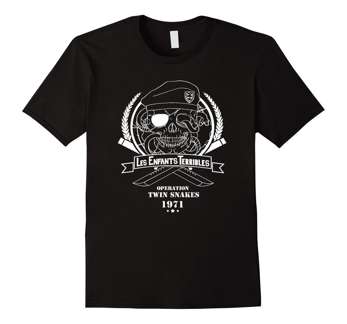 1dd552024f9d2 Camiseta Ps Para Hombre - Camiseta Metal Gear Solid De Le - U S 68 ...