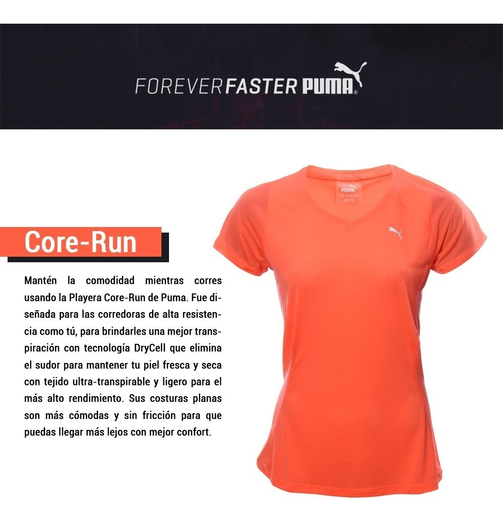 c3315235d72 camiseta puma remera deportiva running entrenamiento dama. Cargando zoom.