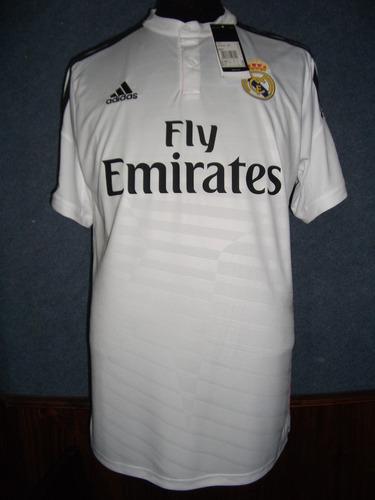 camiseta real madrid 2014-15 adidas 100% original 9 benzema