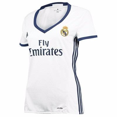 Camiseta Real Madrid Mujer 2016 17 Por Encargue Casacas Uy -   1.690 ... b83e479d15207