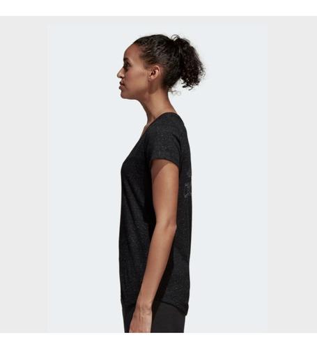 camiseta remera deportiva adidas de dama running mvd sport