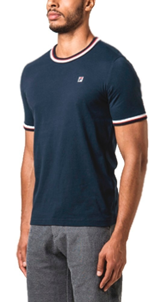 De Hombre Blade Remera Algodón Camiseta Fila Casual m0vN8nw