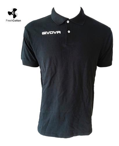 camiseta remera givova polo de equipamiento fútbol mvd sport