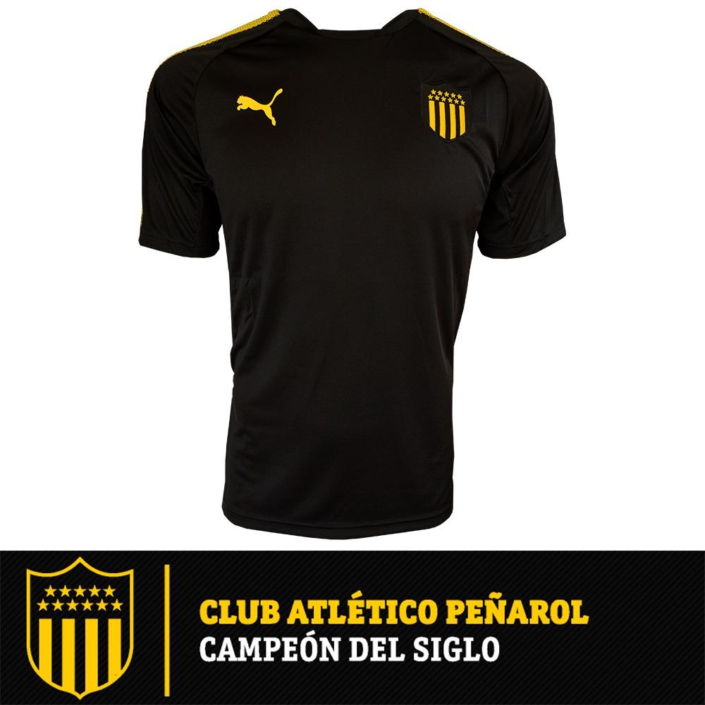 camiseta remera puma peñarol entrenamiento 2017-18 oficial. Cargando zoom. 8dab1b78a4101