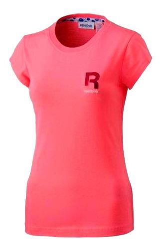 camiseta remera reebok training deportiva de dama mvd sport