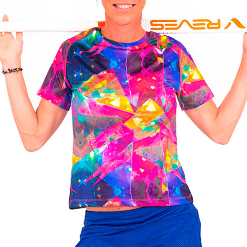 camiseta remera reves ultra de dama hockey entrenamiento