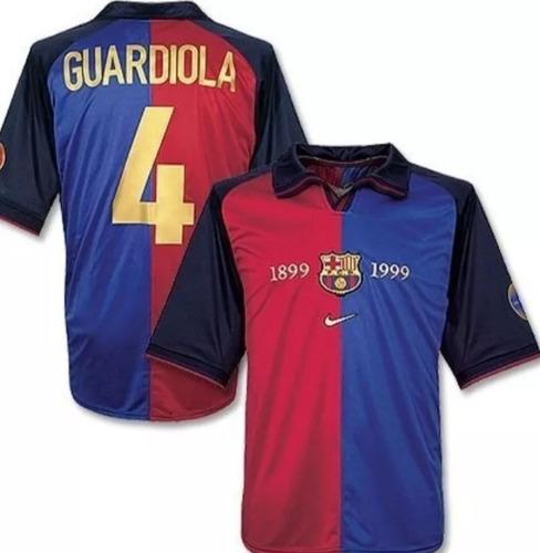 camiseta retro barcelona n 4 guardiola