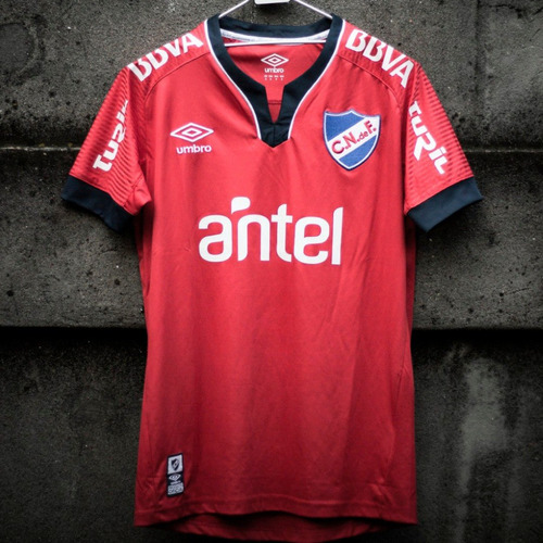 camiseta roja adulto 2019 sin sponsors nacional umbro