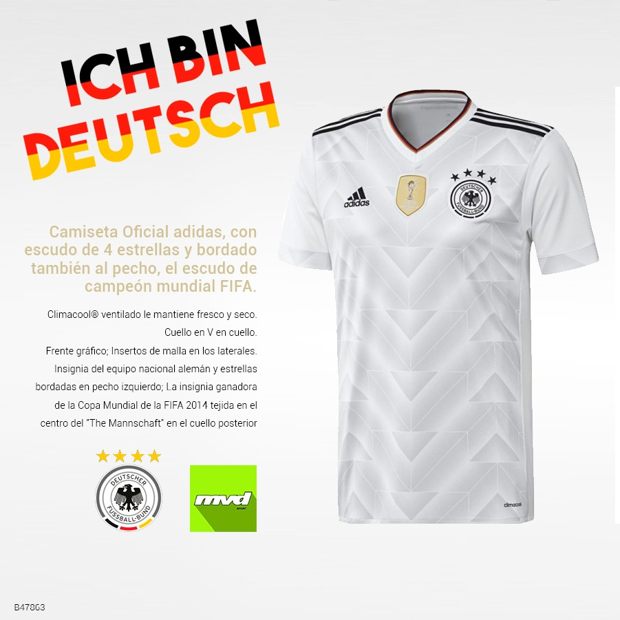 2e1610d5c9805 Camiseta adidas Selección Alemania De Fútbol Oficial -   1.790