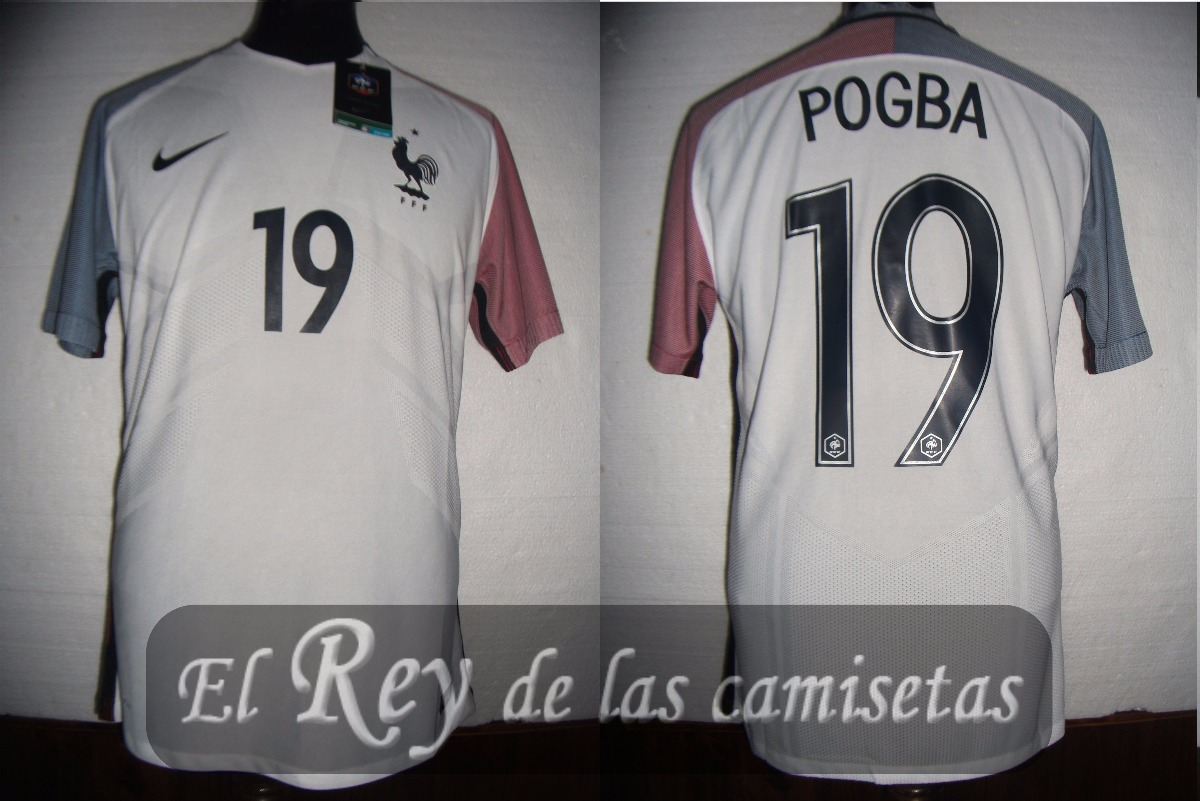 3c906bf7f8 Camiseta Seleccion De Francia Nike 100% Original 19 Pogba ...