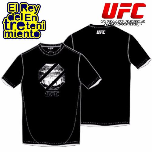 camiseta ufc estampada remera original rep. oficial - el rey